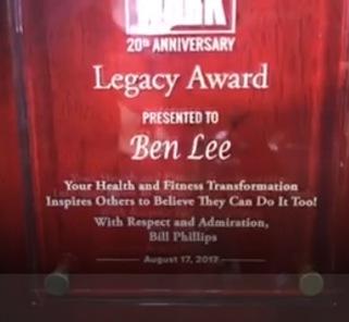 Legacy Award