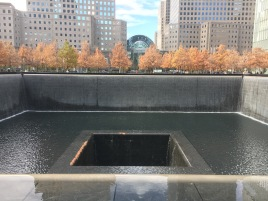 Photo from the 9/11 sight in New York. Never forget
