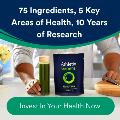 athletic greens supplements