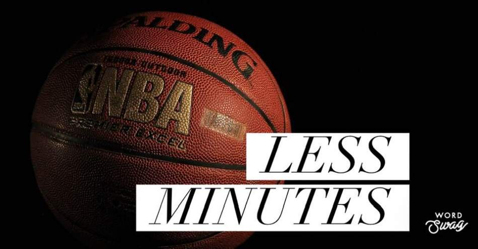 less minutes